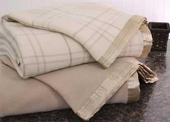 cresswick lightweight winter blankets on desk