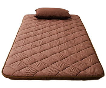 emoor floor sleeping mat brown