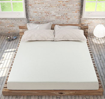 6-inch foam - voted second best floor mattress