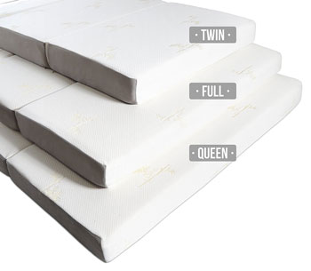 foldable floor mattresses by milliard twin full and queen size