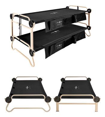 portable bed for adults fold out by discobed