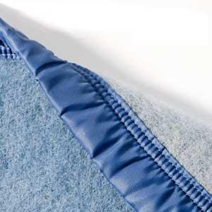 stitching close up poyet motte blanket