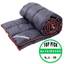 zefabak outdoors - voted warmest blanket for the outdoors