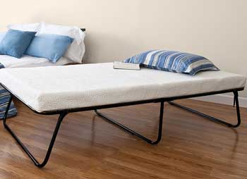 folding foam mattress by lucid