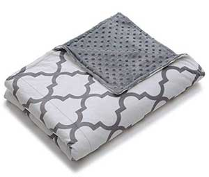 home smart duvet cover for weighted blanket gray 60x80 inches