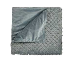 hug bud tactile cover for weighted blankets